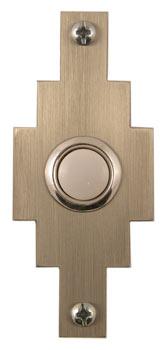 Waterwood Hardware Stainless Steel Santa Fe Shape Doorbell