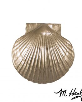 Michael Healy Designs Sea Scallop Door Knocker - Nickel Silver-Premium