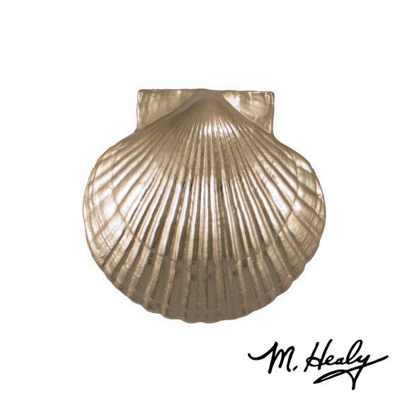 Michael Healy Designs Sea Scallop Door Knocker - Nickel Silver-Premium