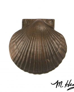 Michael Healy Designs Sea Scallop Door Knocker - Oiled Bronze-Premium