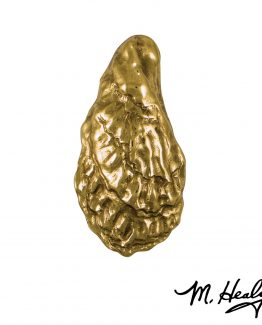 Michael Healy Designs American Oyster Door Knocker - Brass-Premium
