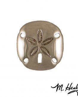 Michael Healy Designs Sand Dollar Door Knocker - Nickel Silver-Premium