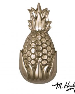 Michael Healy Hospitality Pineapple Door Knocker - Nickel Silver -Premium