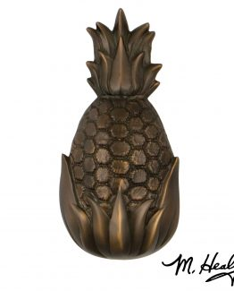 Michael Healy Hospitality Pineapple Door Knocker - Oiled Bronze-Premium