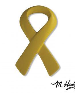 Michael Healy Designs Yellow Ribbon Door Knocker Yellow