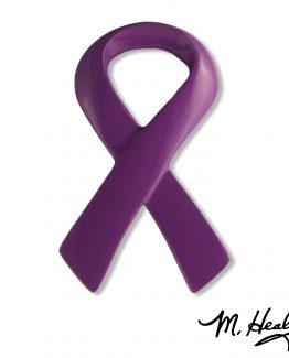 Michael Healy Designs Purple Ribbon Door Knocker Purple