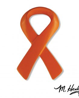 Michael Healy Designs Orange Ribbon Doorbell Orange