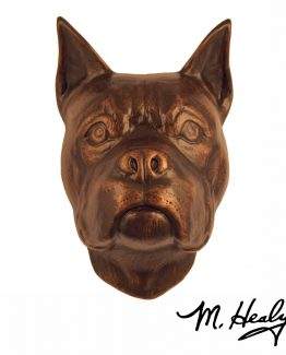 Michael Healy Designs Boxer Door Knocker Oiled Bronze