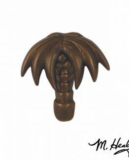 Michael Healy Designs Palm Tree Door Knocker - Oiled Bronze-Premium