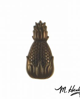 Michael Healy Hospitality Pineapple Doorbell Ringer Oil Rubbed Bronze