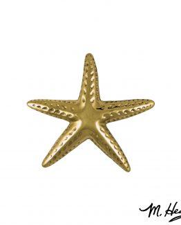 Michael Healy Designs Starfish Door Knocker - Brass