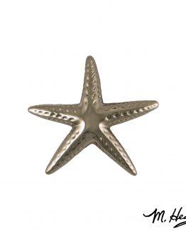Michael Healy Designs Starfish Door Knocker - Nickel Silver