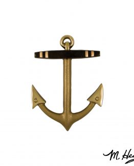 Michael Healy Designs Anchor Door Knocker - Brass