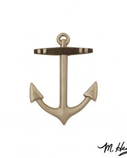 Michael Healy Designs Anchor Door Knocker - Nickel Silver
