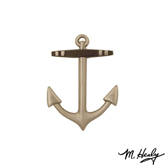 Michael Healy Designs Anchor Door Knocker - Nickel Silver
