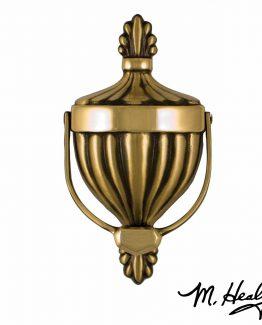 Michael Healy Designs Victorian Urn Door Knocker - Brass