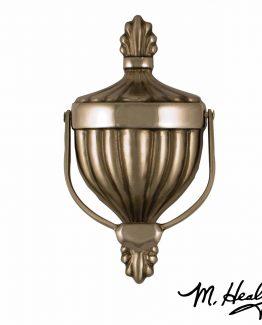 Michael Healy Designs Victorian Urn Door Knocker - Nickel Silver
