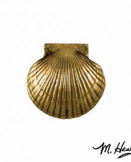 Michael Healy Designs Sea Scallop Door Knocker - Brass