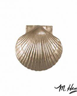 Michael Healy Designs Sea Scallop Door Knocker - Nickel Silver