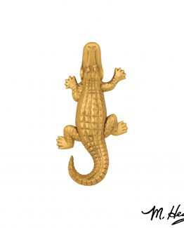 Michael Healy Designs Alligator Door Knocker - Brass