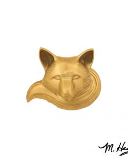Michael Healy Designs Wild Fox Door Knocker - Brass