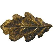 Notting Hill Cabinet Knob Oak Leaf Antique Brass