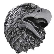 Notting Hill Cabinet Hardware Proud Eagle Brilliant Pewter