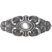 Notting Hill Back Plate Queensway Antique Pewter