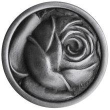 Notting Hill Cabinet Knob McKenna's Rose Antique Pewter