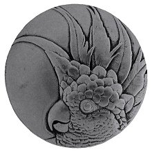 Notting Hill Cabinet Knob Cockatoo Brilliant Pewter