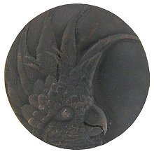 Notting Hill Cabinet Knob Cockatoo (Large - Left side) Dark Brass
