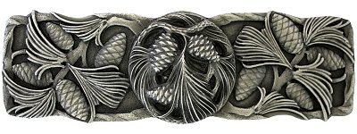 Notting Hill Cabinet Pull Cones & Boughs Antique Pewter