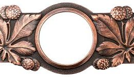 Notting Hill Cabinet Pull Horse Chestnut Antique Copper