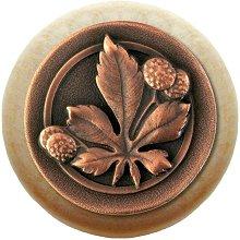 Notting Hill Cabinet Knob Horse Chestnut/Natural Antique Copper
