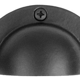 Acorn Manufacturing Cabinet Hardware Cabinet Bin Pull Black