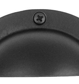 Acorn Manufacturing Cabinet Hardware Black Cabinet Bin Pull