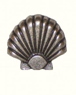 Buck Snort Lodge Decorative Hardware Cabinet Knob Large Seashell