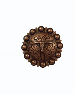 Buck Snort Lodge Decorative Hardware Cabinet Knobs Steer Round