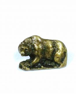 Buck Snort Lodge Decorative Hardware Cabinet Knob Walking Bear