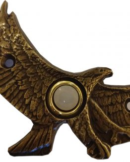 Buck Snort Lodge Decorative Hardware Flying Eagle Door Bell