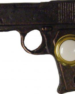 Buck Snort Lodge Decorative Hardware Gun Door Bell