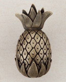Acorn Manufacturing Pineapple Cabinet Knob Antique Brass