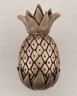 Acorn Manufacturing Pineapple Cabinet Knob Museum Gold