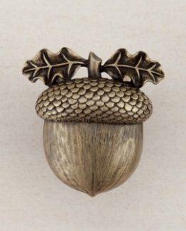 Acorn Manufacturing Acorn Cabinet Knob Antique Brass