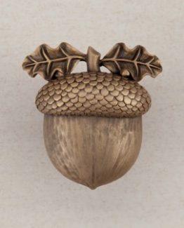 Acorn Manufacturing Acorn Cabinet Knob Museum Gold