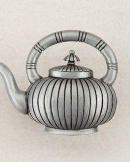 Acorn Manufacturing Teapot Cabinet Knob Antique Pewter