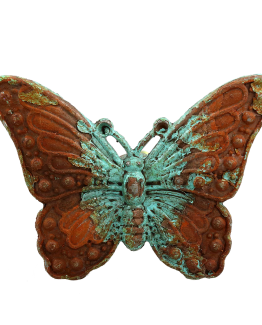 Charleston Knob Company Vintage Verdigris Butterfly Cabinet Knob