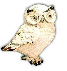 Charleston Knob Company Cottage Farmhouse Owl Cabinet Knob