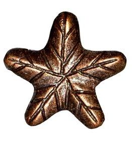 Charleston Knob Company Antique Copper Star Cabinet Knob
