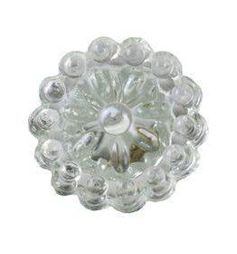 Charleston Knob Company Round Crystal Glass Clear Cabinet Knob